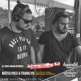 Mateo Poeg & Franklyn Live @Summer Calling 5.0 - Kispentek - RIO Sky Terrace 16.05.01.