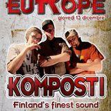 RISE IN EUROPE #2 - KOMPOSTI SOUND (FIN) 13.12.2012