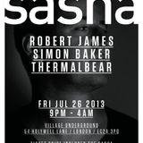 Sasha - Live @ Mixmag Live Village Underground London (UK) 2013.07.26.