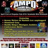 AMPD Original Music Showcase from Screwie Louie's Porpoise Pub 4/21/2013