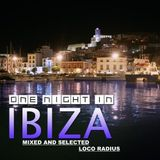 One Night in Ibiza - Loco Radius Mixed and Selected