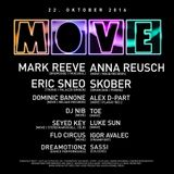Dominic Banone @ MOVE 22.10.2016 (Tanzhaus West, Frankfurt)