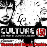 Le Club Culture Radioshow Episode 150 (Veerus and Maxie Devine)