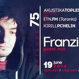Franzis-D Guestmix - Akustika Topless Beats 75 on ETN.fm - June 2014