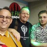 DJ Steve Stack Of Wax ~ ROCKIN' RADIO with my guests Sonny Richards Trio ~ 4 April 18