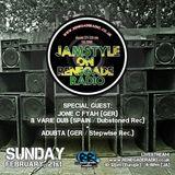 Jamstyle on Renegade Radio with Natty Vibes Sound feat. Jone C Fyah, Variedub & Adubta
