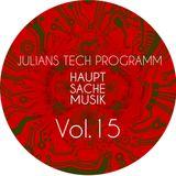 Rautemusik Techhouse Julians Tech Programm Vol.15