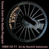 Tunes from the Radio Program, DJ by Ryuichi Sakamoto, 1984-12-11 (2019 Compile)