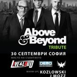 Moonlight Theory - Above & Beyond Tribute mix @ Live & Loud 30.09.2016