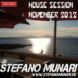 HOUSE SET - NOVEMBER 2012 - DJ STEFANO MUNARI