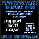 PunkrPrincess Whatever Show recorded live only whatever68.com 3/7/20