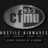 Kevin Kartwell - Hostile Airwaves Radio 93.3FM - 02/23/18 - Feat. CNTRL Machine (Live Techno)