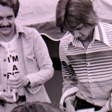 Radio Tees. Alistair Pirrie - Pirrie PM and Mark Page weekends 1976.