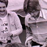 Radio Tees. Alistair Pirrie - Pirrie PM and Mark Page weekends 1976.