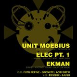Unit Moebius live @ Adapter presents Genius By Default IV [25052013, Effenaar, NL]