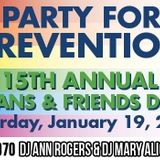 #MIXTAPE070 - Party for Prevention by DJ Ann Rogers & DJ MaryAlice