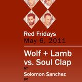 Wolf + Lamb vs. Soul Clap - Live @ U Street Music Hall, Washington (06-05-2011)