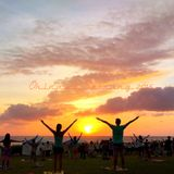 Okinawa Satsang 2015 Sunset Yoga Day2 Dj KGO