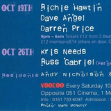 "Richie Hawtin at ""Voodoo"" @ Clear (Liverpool - UK) - 19 October 1994"