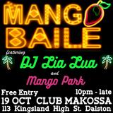 Mango Park 10/10/18 w/ Lia Lua