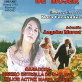 """Ángeles Marset actríz de """"Exorcismo de Mujer"""" en Clásico Sábado // Hoy 21 hs en Teatro Bajosuelo."""