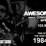 The Awesome Two (Special K & Donald D)  105.9 WHBI 1984
