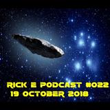 Rick e podcast 022 19 October 2018