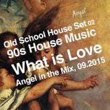 """Old School House Set 02, 90s House. """"What is Love"""", Angel in the Mix, 09.2015"""