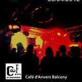 Clarence Brandon @ Café D'Anvers Easter Party (04-08-2012)