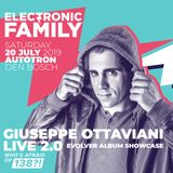 Liveset Giuseppe Ottaviani LIVE 2.0 Evolver Album Showcase at Electronic Family 2019