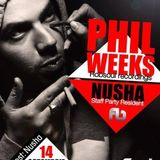 Phil Weeks House Session Episode 19 Live @ Staff Party - The Address/ Bucharest