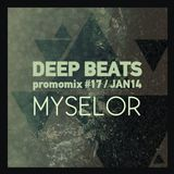 Deep Beats promomix #17 - MYSELOR