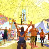 Burning Man 2014, Tuesday Yoga Class with Teacher Emily Kasman