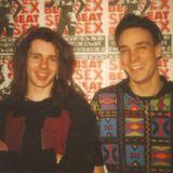 CHRIS & GRANT LIVE AT SEX BEAT, THE WEE RED BAR, EDINBURGH, 02 JUNE 1990