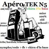 Chien D'la Bass : l'interface de l'apérotek N°5 ( extrait ) .... N°32 ( tribe )
