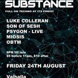 Substance  02 -DJ OBTM - 24th August 2018