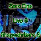 Zero One Live @ Shapeshifters 9 - 2014