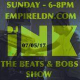DJ Ink The Beats & Bobs show recorded live on Empireldn.com 07/05/17