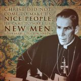 """Archbishop Fulton J. Sheen speaks on 'Old Pots"""".  He gives a lesson on 'Authority and Infallibility'"""