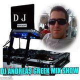 GREEK MIX SHOW BY DJ ANDREAS VOL 31 AQUA CAFE-BAR