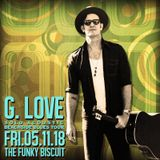 G. Love - Solo Acoustic Beachside Blues Tour - The Funky Biscuit - Boca Raton, FL - 2018-5-11