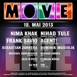 "Frank Savio ""Live @ Move Summerclosing 18. Mai 2013 [Tanzhaus West, FFM]"