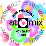 aTOMix 2013-11 November Mix - Pink Pounders Vol. 3