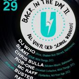 DJ Who Live at Back in the Day 2 - December 29, 2012