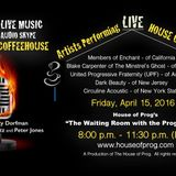 The Progressive Coffeehouse  originally broadcast on The House of Prog on 4-16-16