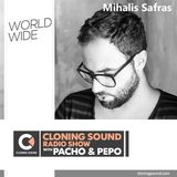 Mihalis Safras Guest Mix :: Cloning Sound radio show with Pacho & Pepo :: 127