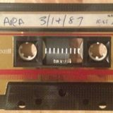 Last Night of AREA, N.Y.C. March 14th, 1987. Part One. Mixed Live by Justin Strauss