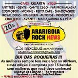 # 163 Arariboia Rock News - 07.03.2018 - Dia das Roqueiras