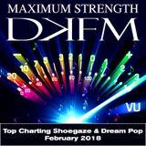 DKFM Top Shoegaze and Dream Pop Tracks, February 2018