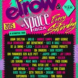 Eats Everything live @ ElRow (Space Ibiza) – 09.08.2015